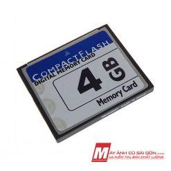 Thẻ nhớ CF 4GB sử dụng cho máy ảnh DSLR